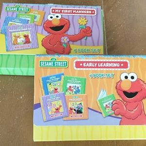 Sesame Street two book sets